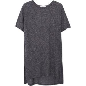 MANGO T-Shirt Chiné Lin