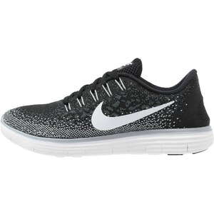 Nike Performance FREE RUN DISTANCE Laufschuh Natural running black/white/dark grey