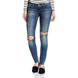 ONLY Damen Slim Jeanshose Onlcoral Sl Sk Kneehole Jea Cre4276 Alc
