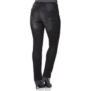 sheego denim Jeans Mit Vier Knöpfen