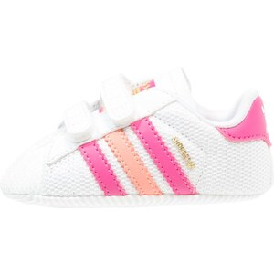adidas Originals SUPERSTAR Krabbelschuh white/pink/sun glow