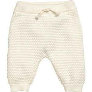 H&M Pantalon en maille de coton