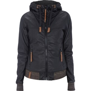 Naketano Jacke in Leder-Optik