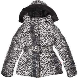 Cars Steppjacke mit Leopardenmuster