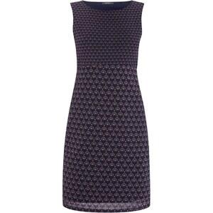 Esprit Collection Kleid aus Mesh mit Retromuster