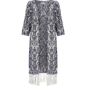 Tom Tailor Denim Kimono aus Chiffon mit Fransen