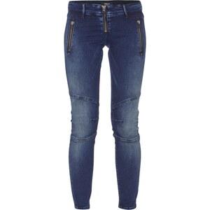 Replay Skinny Fit Jeans im Biker-Look