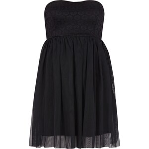 ONLY Bandeau-Kleid mit Oberteil aus Spitze