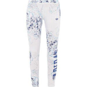 adidas Originals Leggings mit Logoprint und floralem Muster