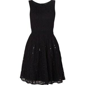 ONLY Kleid mit floraler Spitze und Paillettenbesatz