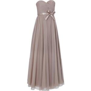 Mascara Abendkleid aus Mesh mit Taillenband aus Satin