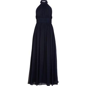 Apart Glamour Abendkleid mit Collierkragen und Raffungen