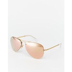 Ray-Ban - Pilotensonnenbrille mit Spiegelgläser - Rose