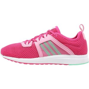 adidas Performance DURAMA Laufschuh Neutral pink/green glow/semi pink glow