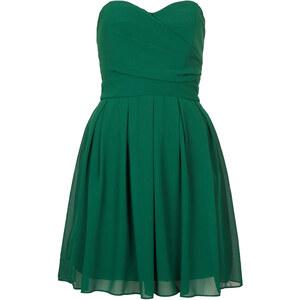 Topshop Bandeau-Kleid aus Chiffon von TFNC - Grün