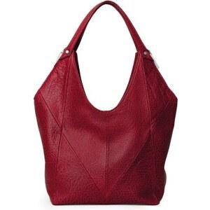 Gretchen Swing Hobo - Garnet Red