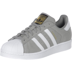adidas Superstar Suede chaussures grey/white/grey