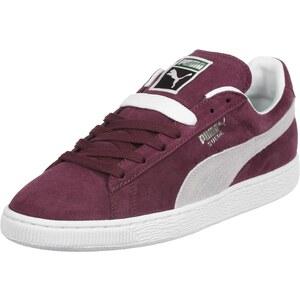 Puma Suede Classic chaussures cabernet/white