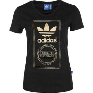 adidas Logo Essential Gold W Adidas T-Shirt black