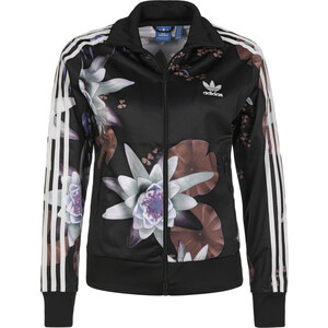 Adidas Lotus Print Tt W Jacke black/multicolor