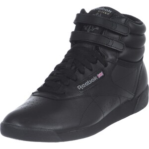 Reebok Freestyle Hi W chaussures black