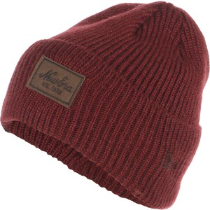 New Era Patched Wool bonnet red