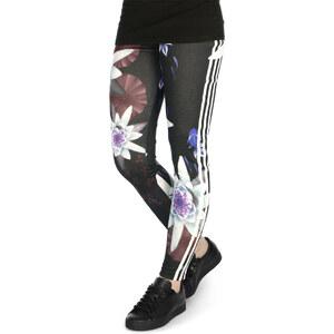 Adidas Lotus Print W Leggings black/multicolor