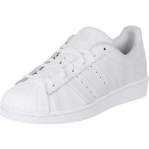 adidas Superstar Foundation Lo Sneaker Schuhe white/white