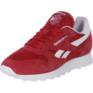 Reebok Cl Leather Is chaussures red/white