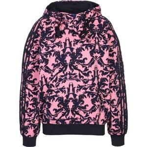 adidas Aop W Hoodie pink/blue