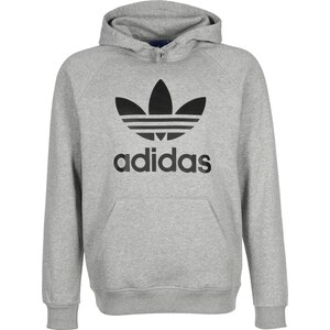 adidas Trefoil Adidas Hoodie medium grey heather