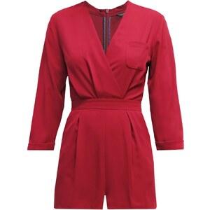 Topshop Jumpsuit red