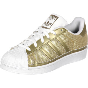 adidas Superstar Adidas chaussures gold met./white
