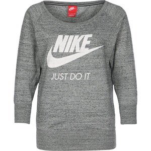 Nike Gym Vintage Crew W Longsleeve carbon heather