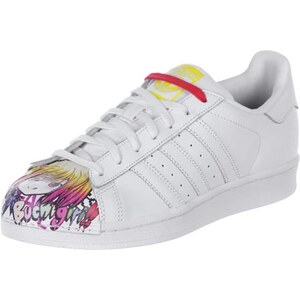 Adidas Superstar Pharrell Schuhe white/white/yellow