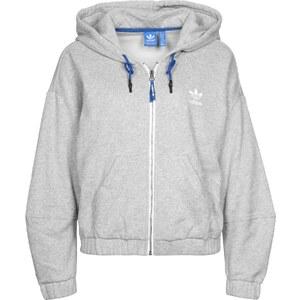 adidas Train Snap W Hooded Zipper medium grey heather