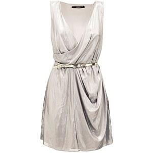 Guess Kleid in Metallic-Optik