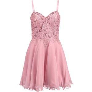 Luxuar Fashion Cocktailkleid / festliches Kleid rouge