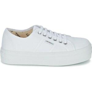 Victoria Chaussures BLUCHER LONA PLATAFORMA