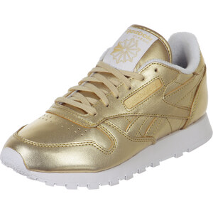 Reebok Cl Leather Spirit W chaussures lt-gold/white