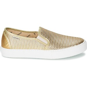 Victoria Chaussures SLIP ON TEJ TRENZA METALIZA