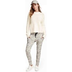 H&M Pantalon jogger chiné
