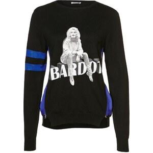 Brigitte Bardot Strickpullover schwarz