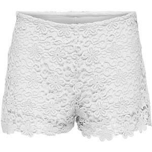 Only Häkel Shorts, weiß