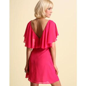 ASOS - Kleid mit Rückenpartie im Cape-Stil
