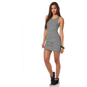AJC Jerseykleid mit Streifen, schwarz