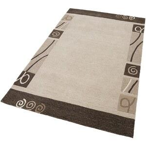 Teppich, Home Affaire Collection, »Clivia«, handgearbeitet, reine Schurwolle