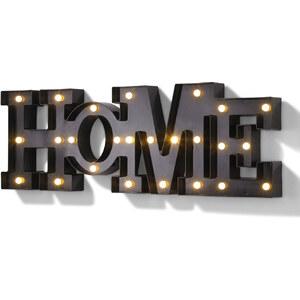 bpc living LED-Deko-Buchstaben Home in schwarz von bonprix
