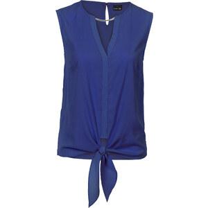 BODYFLIRT Blusen-Top in blau von bonprix