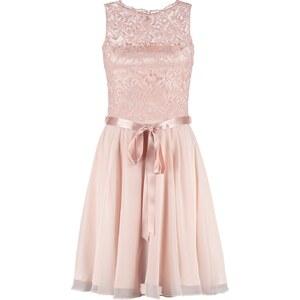 Swing Cocktailkleid / festliches Kleid hellrosa/hellrosa